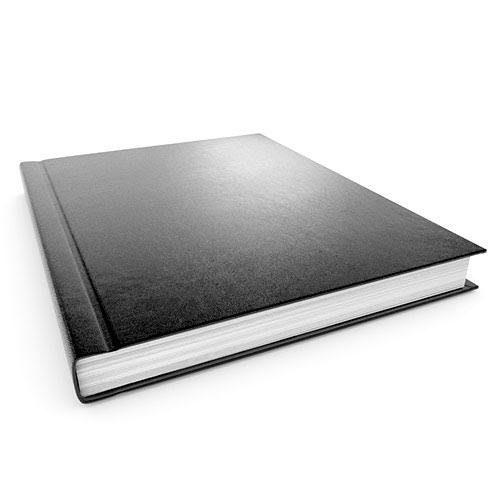 "11"" x 8.5"" Black Size A 1/4"" VeloBind Hard Cover Cases - 40pk (VBHCBKA) Image 1"