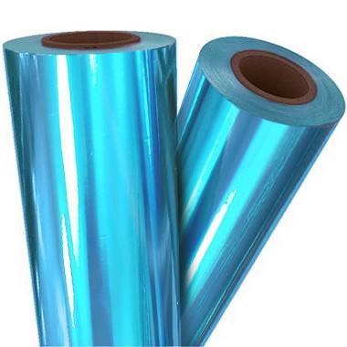 "Turquoise Metallic 12"" x 500' Toner Fusing/Sleeking Foil - 3"" Core (BLU-30-3-12) - $125.99 Image 1"