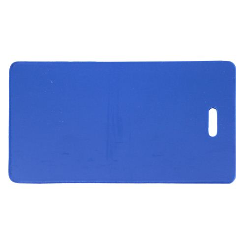 Blue Semi-Rigid Vinyl Luggage Tag Holders - 100pk (1845-2002) Image 1