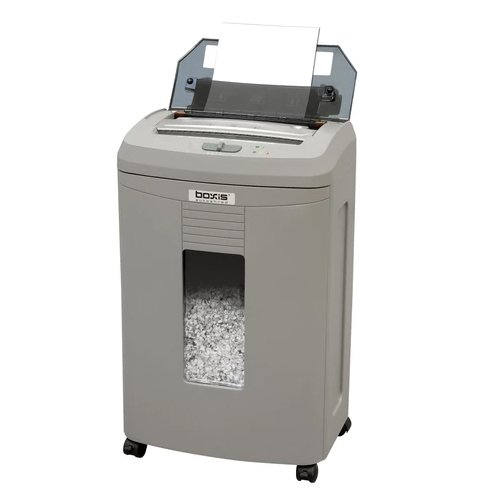 Boxis AF120 AutoShred 120-Sheet Level P-4 Micro-Cut Shredder (BOXIS-AF120), Brands Image 1