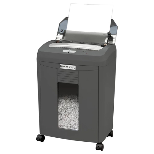 Boxis AF70 AutoShred 70-Sheet Level P-4 Micro-Cut Shredder (BOXIS-AF70), Brands Image 1
