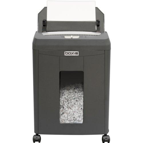 Boxis AF90 AutoShred 90-Sheet Level P-4 Micro-Cut Shredder (BOXIS-AF90), Brands Image 1