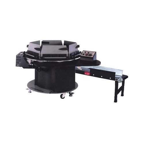 "Brackett 19"" High-Speed Automated Circular Padder with Conveyor (CP-19)"