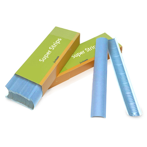 "Powis Parker Bright Blue 11"" Medium Fastback Super Strips (M111) Image 1"