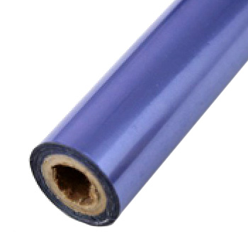 "2"" x 200' Brilliant Violet Hot Stamp Foil Roll (1/2"" Core) (MYBF2292X200F) - $17.59 Image 1"