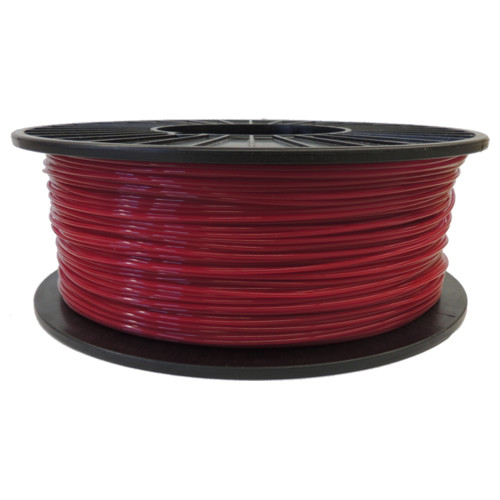 Burgundy 1.75mm PLA Filament 2.5LB Spool (BURPLAFSPOOL175) Image 1