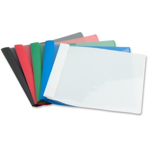 Business Source Assorted Letter Size Heavy Duty Clear Front Report Covers - 25pk (BSN78511) - $52.29 Image 1