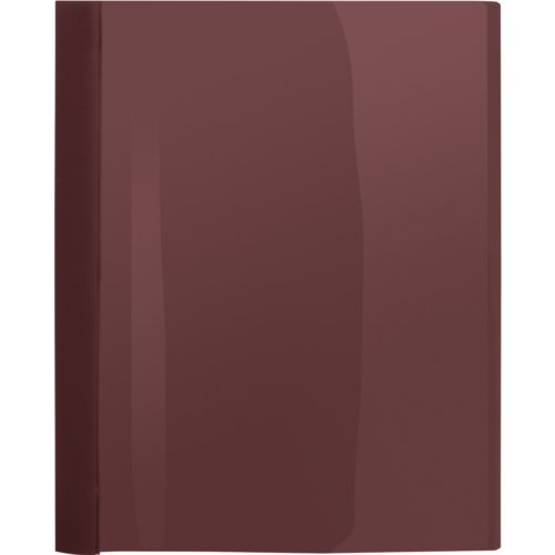 Business Source Burgundy Letter Size Heavy Duty Clear Front Report Covers - 25pk (BSN78515) - $52.29 Image 1