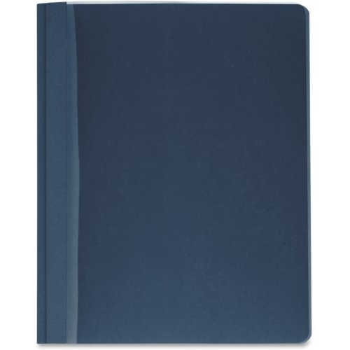 Business Source Dark Blue Letter Size Clear Front Report Covers - 25pk (BSN78522) Image 1