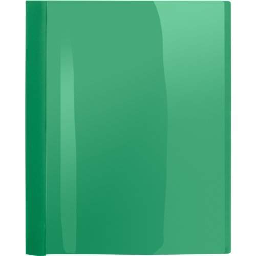 Business Source Green Letter Size Heavy Duty Clear Front Report Covers - 25pk (BSN78516) - $52.29 Image 1