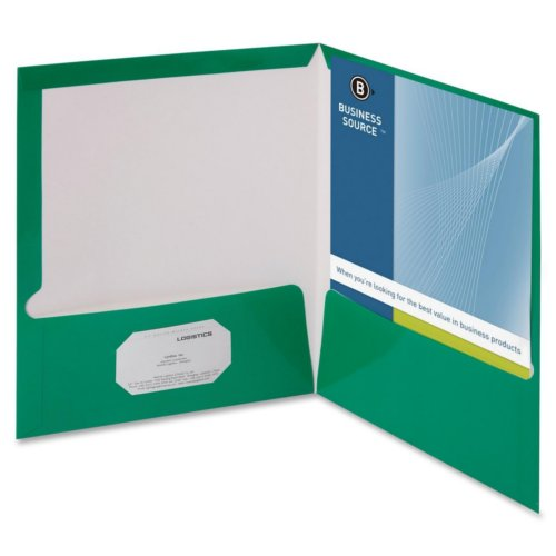Presentation Covers with Business Card Holder Image 1