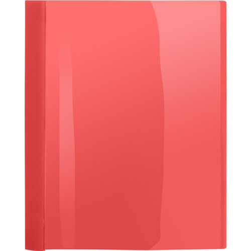Business Source Red Letter Size Heavy Duty Clear Front Report Covers - 25pk (BSN78517) - $52.29 Image 1