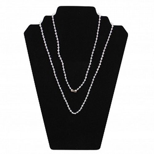 Clear Beaded Neck Chains Image 1