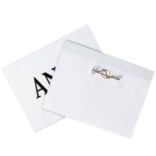 "C-Line 4"" x 3"" Pin Style Name Badge Holder Kits 100pk (CLI-94043) Image 1"