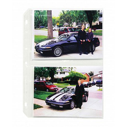 Clear 3ring Binder Sheet Protectors Image 1