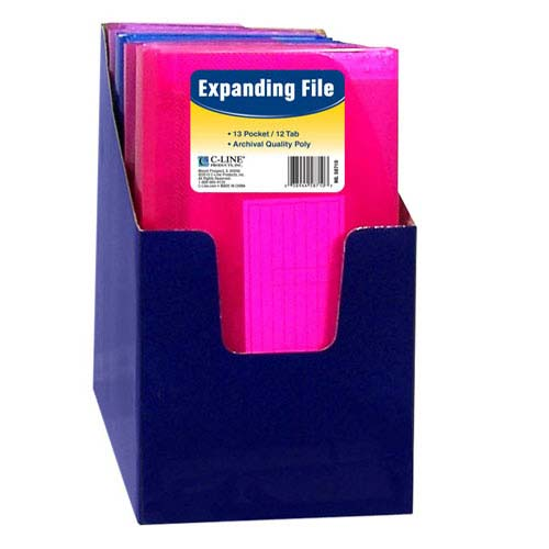 Expanding Pocket Folder with Dividers Image 1