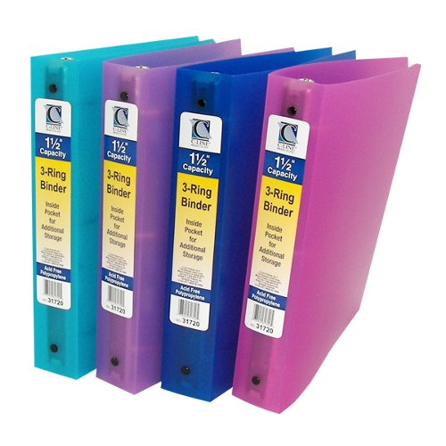 Ring Poly Capacity Binder Non View Image 1