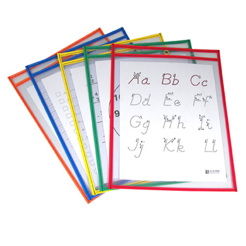 Reusable Dry Erase Pockets Image 1