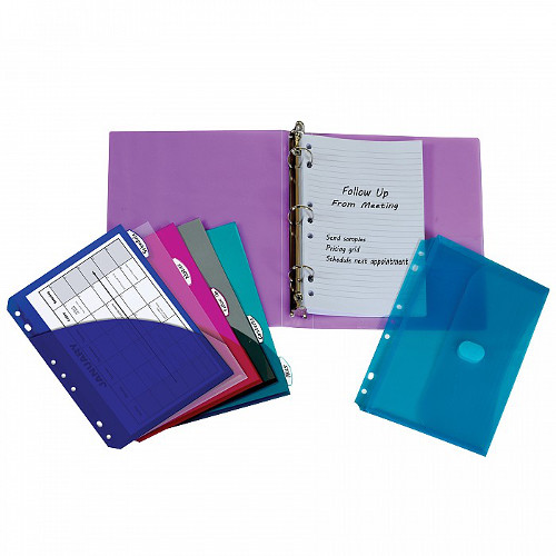 C-Line Assorted Mini Size Binder Starter Kit 1pk (CLI-30100) Image 1