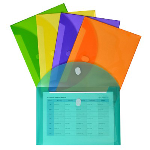 Poly File Envelopes