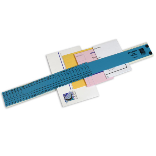 "C-Line Blue 2 1/2"" x 23 1/2"" All-Purpose Left-Handed Sorters 1pk (CLI-30515) - $24.39 Image 1"