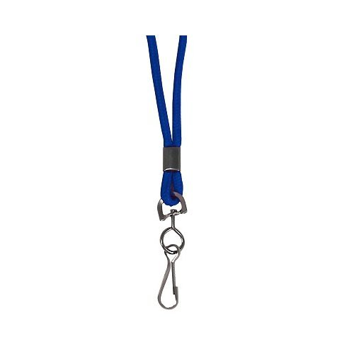 C-Line Blue Standard Lanyard with Swivel Hook 24pk (CLI-89315) Image 1