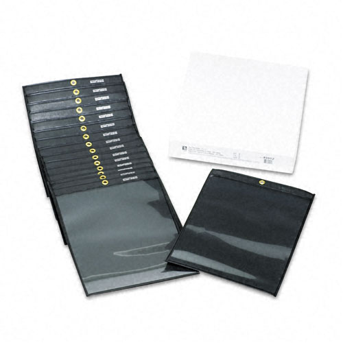 Clear Vinyl Document Holders