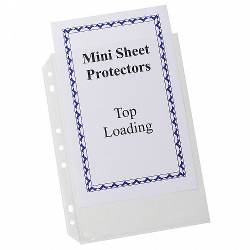 C-Line Clear Heavyweight Mini Size Top Loading Poly Sheet Protectors 20pk - CLI-3758 (CLI-03758) - $6.29 Image 1