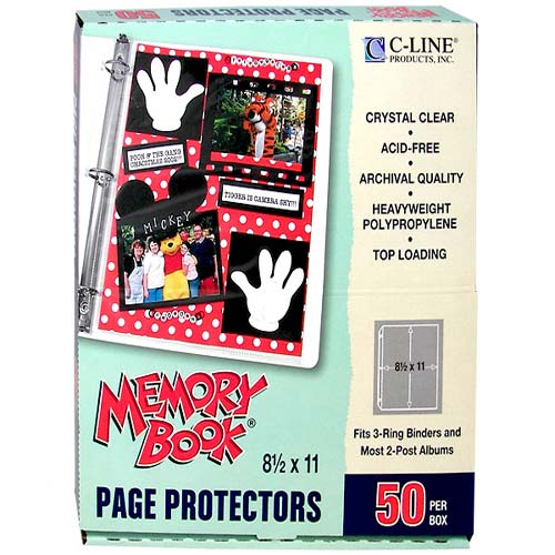 Clear Book Protectors Image 1