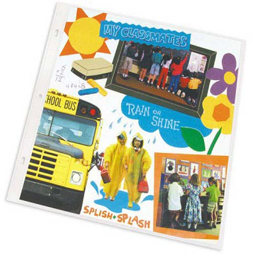"C-Line Clear Memory Book 12"" x 12"" Page Protectors 25pk (CLI-62021) Image 1"