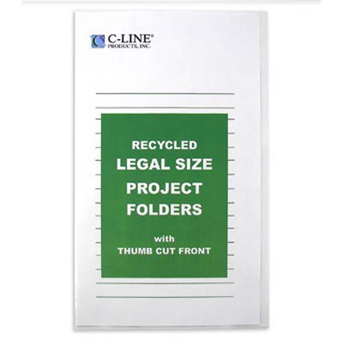 Clear Document Folders Image 1
