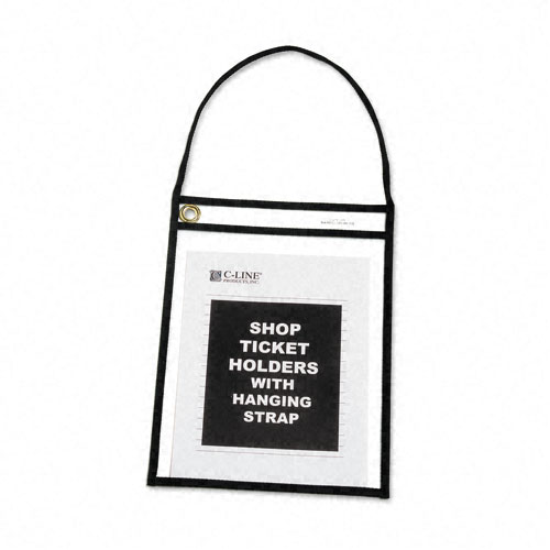 Ticket Holder with Strap Image 1