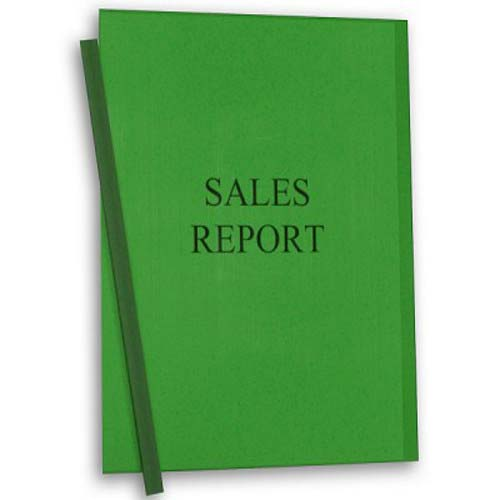 C-Line Green Vinyl Report Covers with Green Binding Bars 50pk (CLI-32553) Image 1