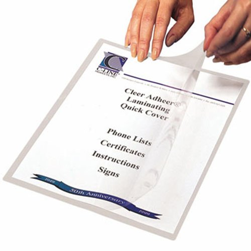 Clear Protective Covers for Documents Image 1