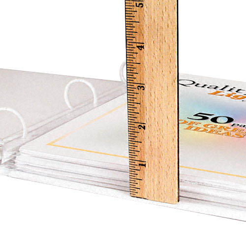 C-Line High Capacity 50 Sheet Top Loading Protectors 25pk (CLI-62020), C-Line brand Image 1