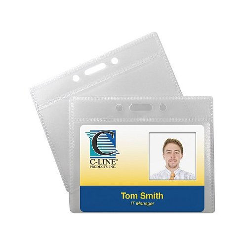 Id Badge Holder Size Image 1