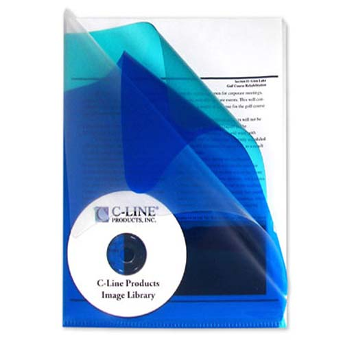 C-Line Multi-Section Project Folders with Colored Dividers 5pk (CLI-62110) - $4.09 Image 1