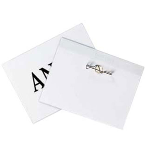 Vinyl Name Badge Holders Image 1