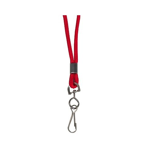 C-Line Red Standard Lanyard with Swivel Hook 24pk (CLI-89314) Image 1