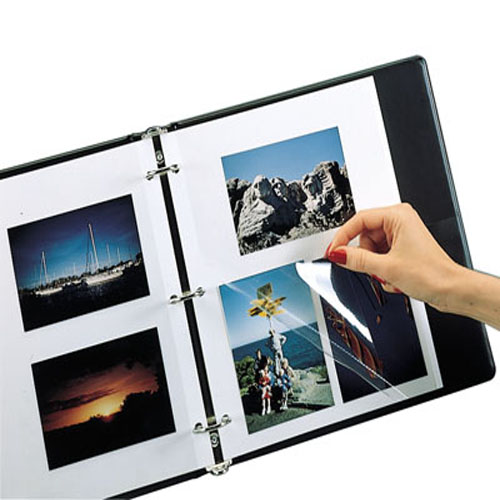 C-Line Redi-Mount Photo Mounting Sheets 50pk (CLI-85050) Image 1