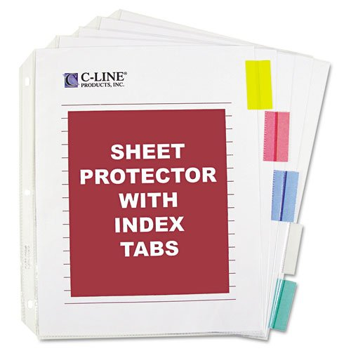 Clear C Line Custom Index Tabs Image 1