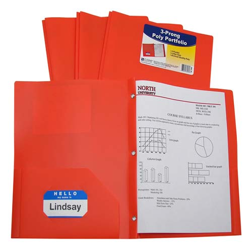 Folders with Business Card Slots Image 1