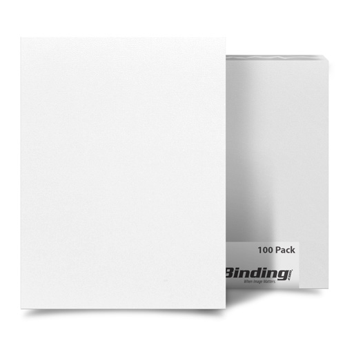 "Calm Coconut 8.5"" x 14"" Card Stock Covers - 100pk (MYCS8.5X14CC) Image 1"