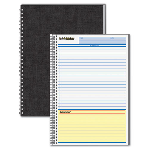 "Mead Cambridge Limited 5"" x 8"" Perforated QuickNotes Notebook (06096), Mead Image 1"