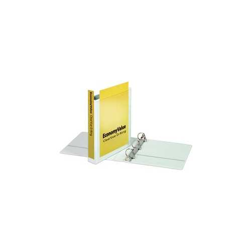"Cardinal 1.5"" White EconomyValue Binder Without Packaging 12pk (CRD-90751) Image 1"
