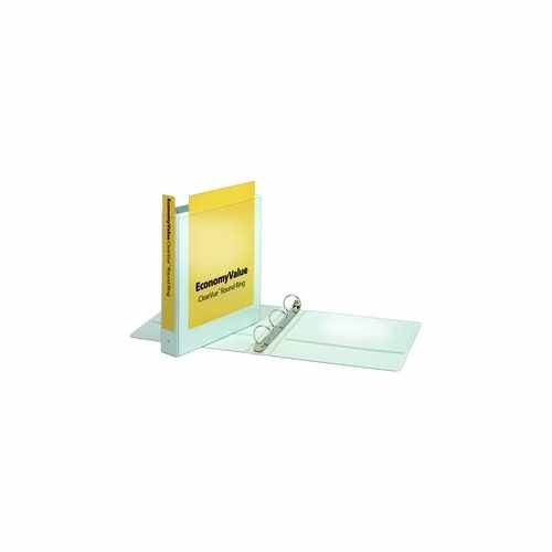 "Cardinal 1.5"" White EconomyValue Ring Binder Without Packaging 12pk (CRD-90631) Image 1"
