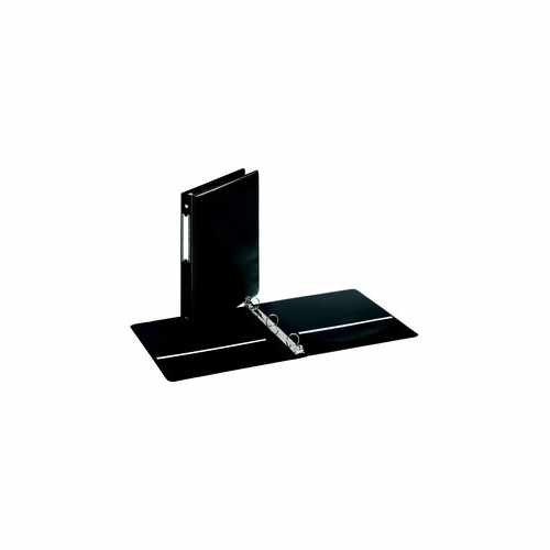 "Cardinal 1"" Black EconomyValue Round Ring Binder w/Label Holder 12pk (CRD-90311) Image 1"