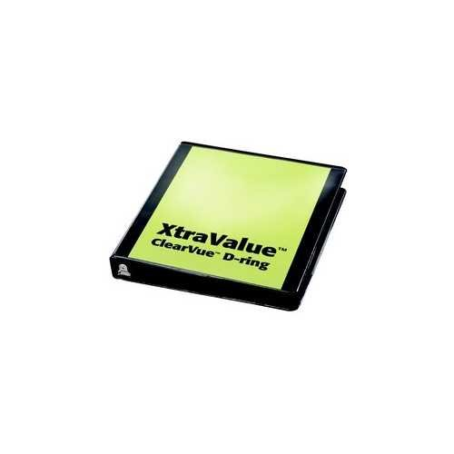 Xtravalue Clearvue Binder Image 1
