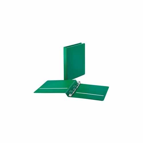 "Cardinal 1"" Green BasicSelect Round Ring Binder 12pk (CRD-72713) Image 1"