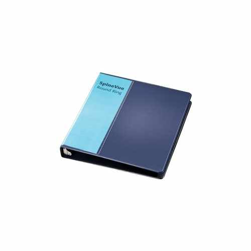 "Cardinal 1"" Navy SpineVue Locking Round Ring Binder 12pk - V3 (CRD-16302) Image 1"